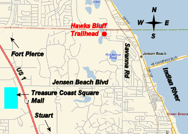 Hawks Bluff Trail In Jensen Beach